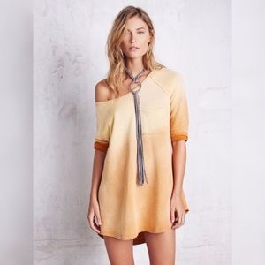 Free People Tanna Peached Out Ombre Bliss Tunic XS